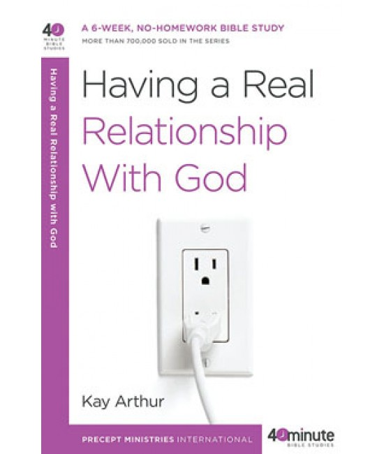 Having a Real Relationship w/ God.