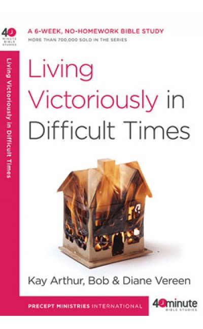 Living Victoriously in Difficult Times. ONLY THE OLD COVER IS ON SALE. 3 available.