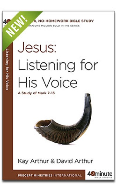 Jesus: Listening for His Voice (40 Minute Study)