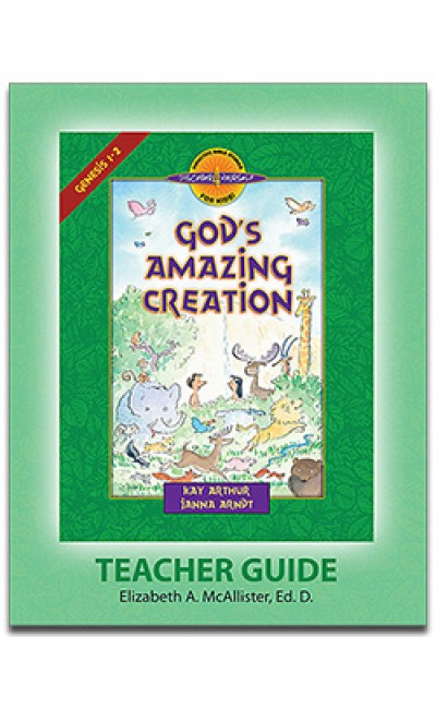 God's Amazing Creation (Genesis 1-2)-D4Y Teacher's Guide