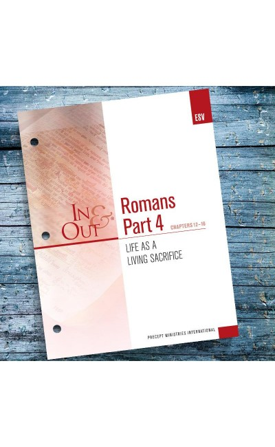 Romans Part 4-In & Out Workbook (ESV)