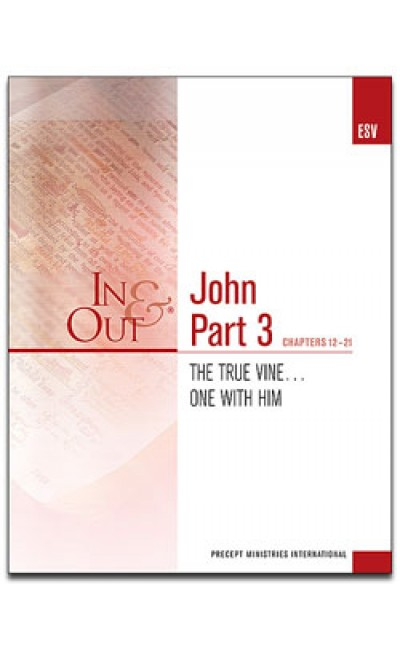 John Part 3-In & Out Workbook (ESV)
