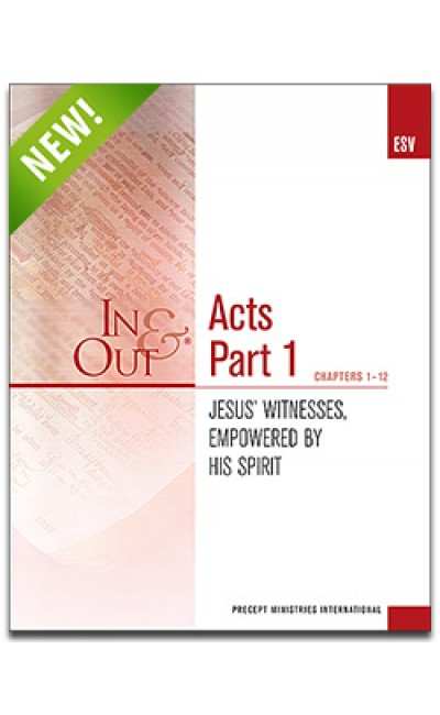 Acts Part 1-In & Out Workbook (ESV)