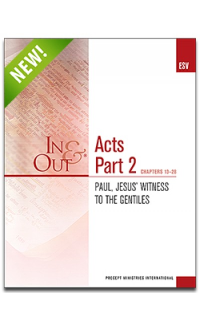 Acts Part 2-In & Out Workbook (ESV)
