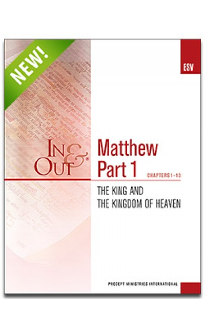 Matthew Part 1-In & Out Workbook (ESV)