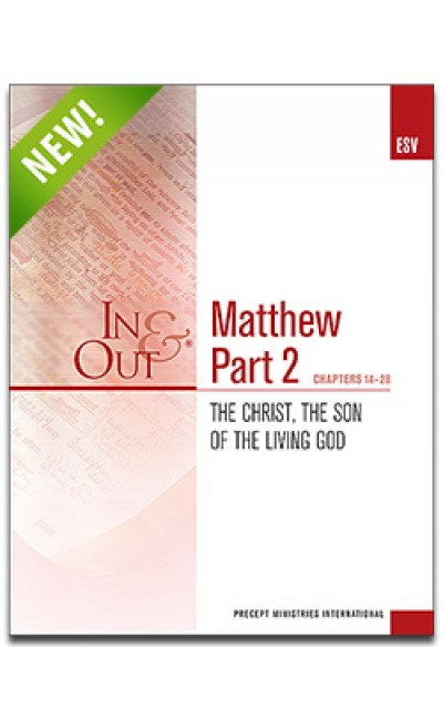 Matthew Part 2-In & Out Workbook (ESV)