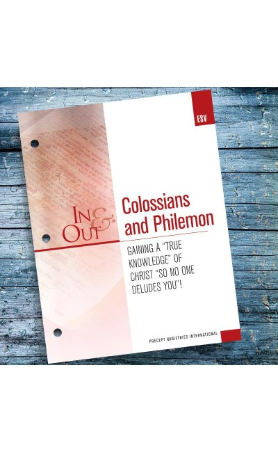 Colossians and Philemon-In & Out Workbook (ESV)