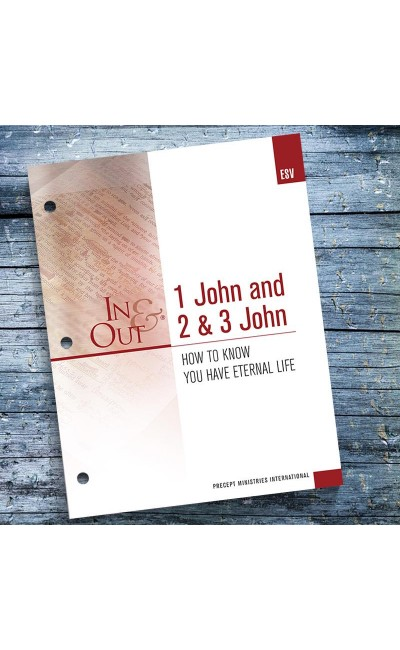 1, 2 & 3 John - In & Out Workbook (ESV)
