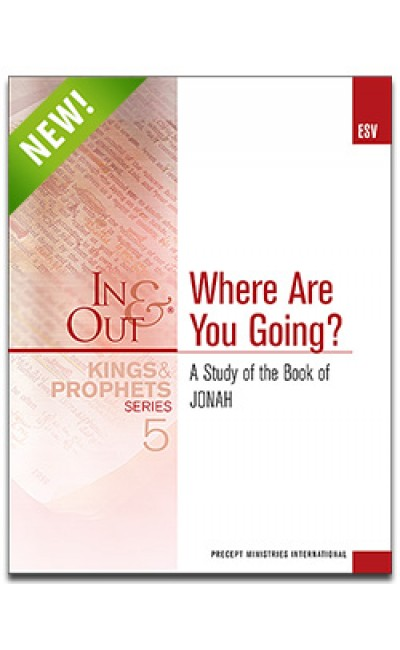Where Are You Going?-Jonah-In & Out Workbook (ESV)