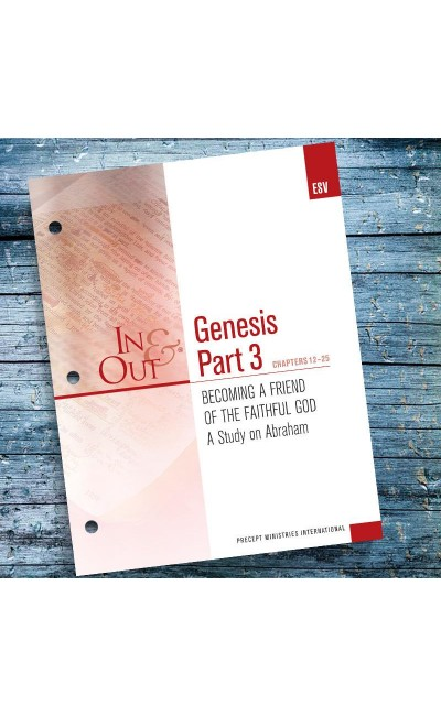 Genesis Part 3-In & Out Workbook (ESV)