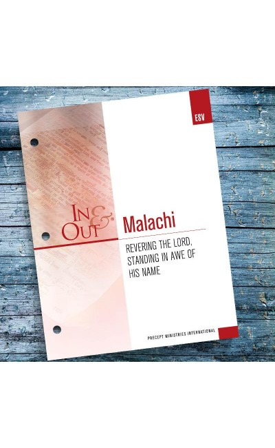 Malachi-In & Out Workbook (ESV)