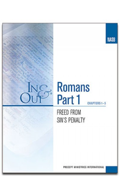 Romans Part 1-In & Out Workbook (NASB)