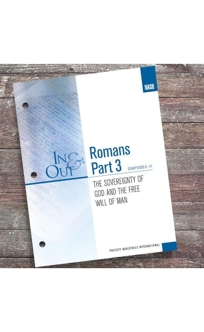 Romans Part 3-In & Out Workbook (NASB)