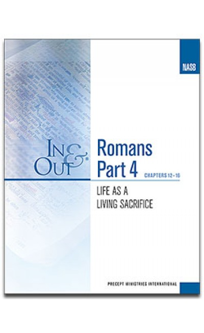Romans Part 4-In & Out Workbook (NASB)