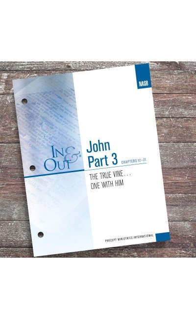 John Part 3 In & Out Workbook (NASB)