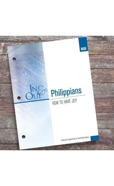 Philippians-In and Out Workbook (NASB)