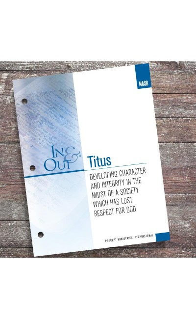 Titus-In & Out Workbook (NASB)