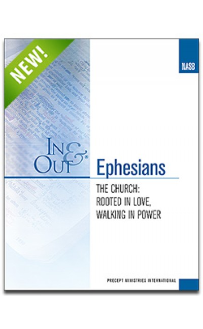 Ephesians-In & Out Workbook (NASB)