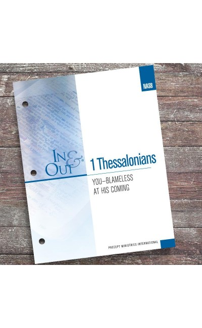 1 Thessalonians-In & Out Workbook (NASB)