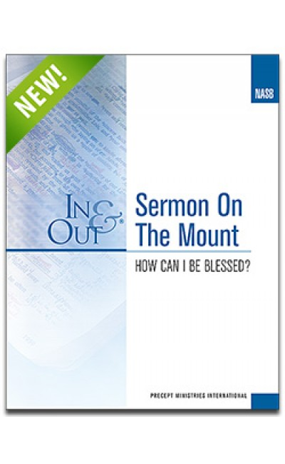 Sermon on the Mount-In & Out Workbook (NASB)