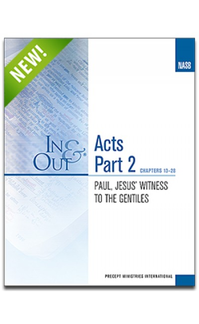 Acts Part 2-In & Out Workbook (NASB)
