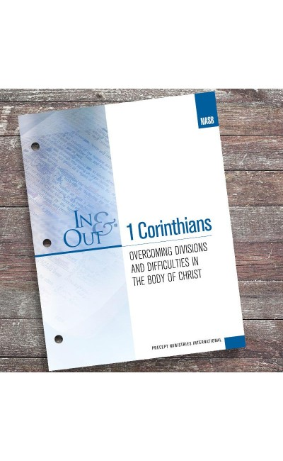 1 Corinthians-In & Out Workbook (NASB)