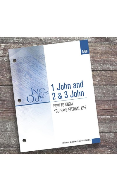 1, 2 & 3 John - In & Out Workbook (NASB)