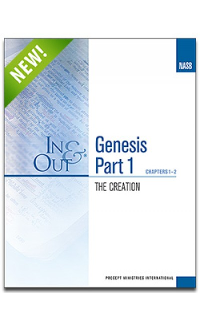 Genesis Part 1-In & Out Workbook (NASB)