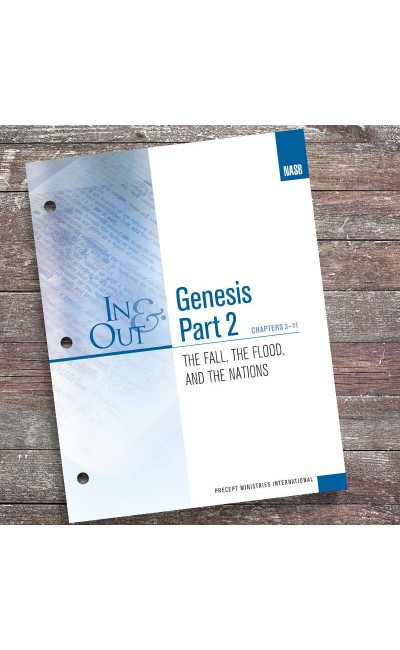Genesis Part 2-In & Out Workbook (NASB)