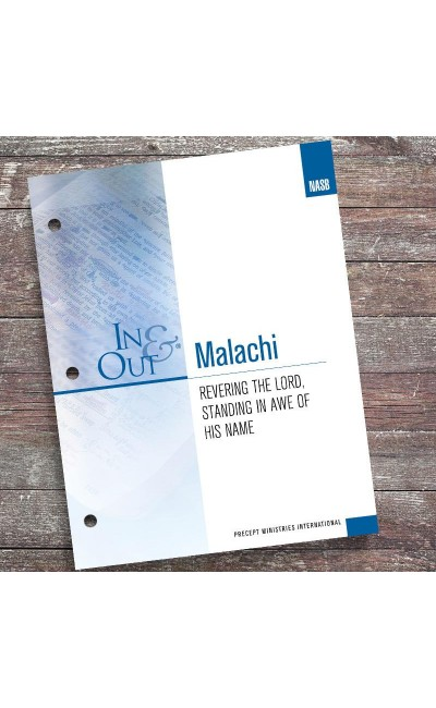 Malachi-In & Out Workbook (NASB)