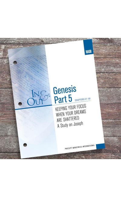 Genesis Part 5-In & Out Workbook (NASB)