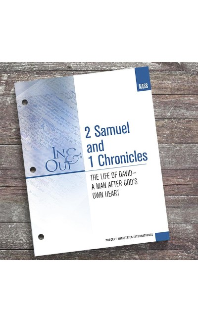 2 Samuel & 1 Chronicles-In & Out Workbook (NASB)
