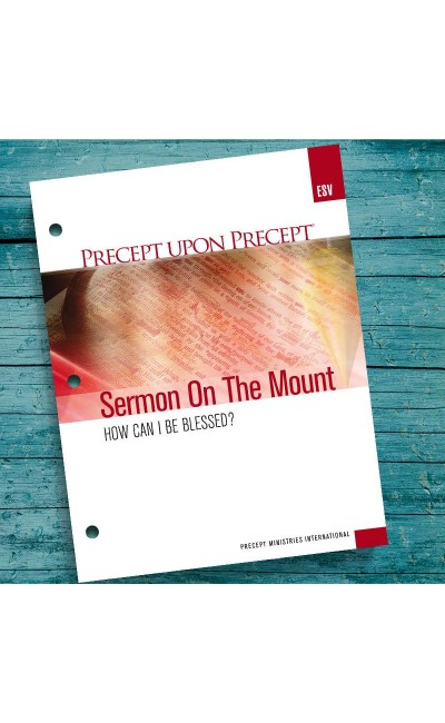 Sermon On The Mount-Precept Workbook (ESV)