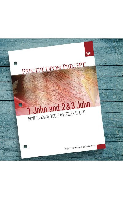 1, 2 & 3 John-Precept Workbook (ESV)