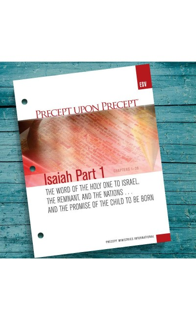 Isaiah Part 1 Precept Workbook (ESV)