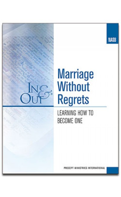 Marriage Without Regrets-Precept Workbook