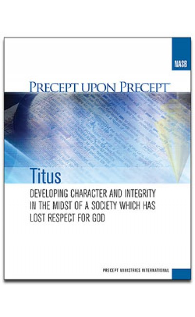 Titus-Precept Workbook (NASB)
