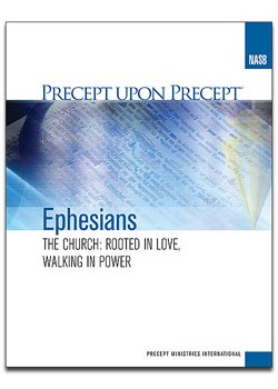 Ephesians-Precept Workbook (NASB)