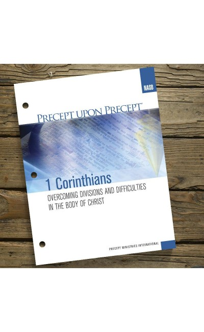 1 Corinthians - Precept Workbook (NASB)