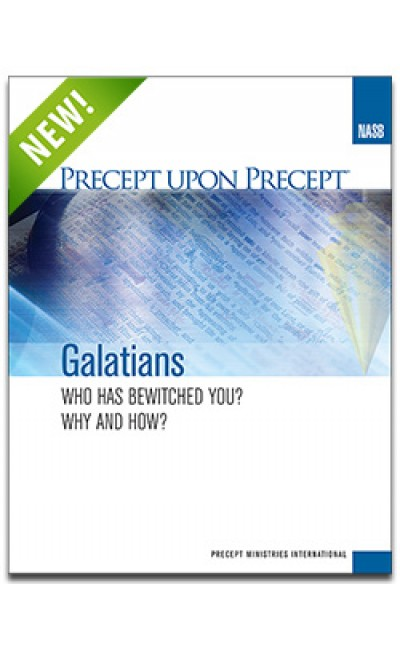 Galatians-Precept Workbook (NASB)