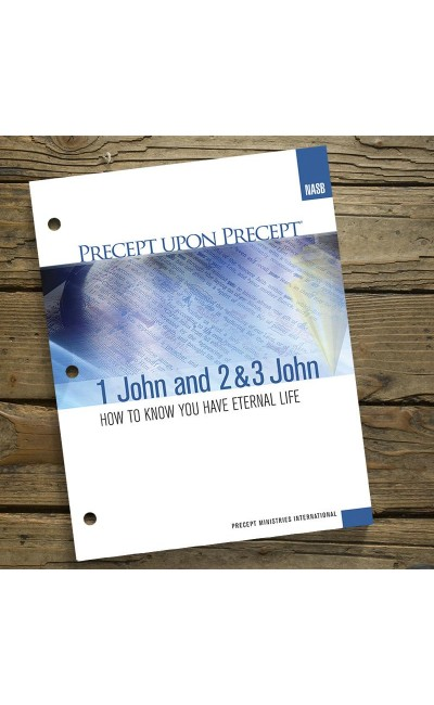 1, 2 & 3 John-Precept Workbook (NASB)