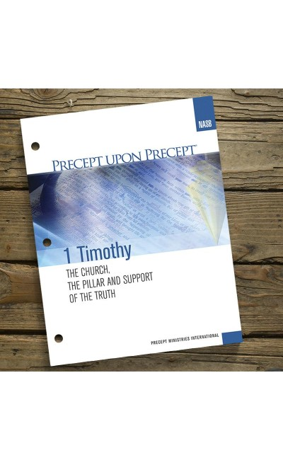 1 Timothy-Precept Workbook (NASB)