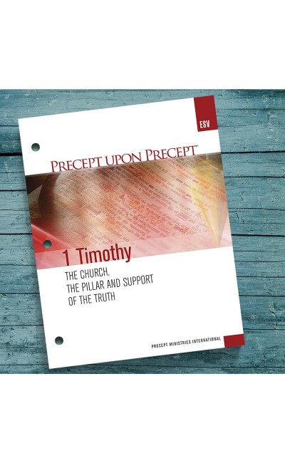 1 Timothy-Precept Workbook (ESV)