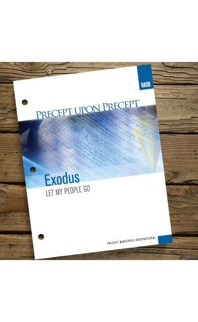 Exodus-Precept Workbook (NASB)