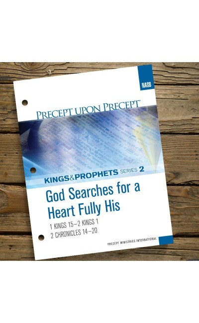 God Searches For A Heart...-Precept Workbook  2 (NASB)