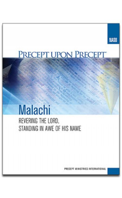 Malachi-Precept Workbook (NASB)