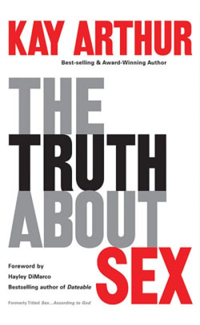 "The Truth About Sex [the old hard cover ""Sex....according to God"" is on sale for $10. 12 copies available]."